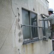 鉄骨造ビル外壁からの雨漏り 川崎店