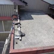 浴室 コンクリート屋根防水工事、外壁塗装工事 金沢東店