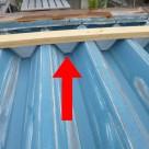 折板屋根、笠木面戸からの雨漏り 金沢東店