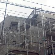 RC造4階建マンションの屋上防水工事 田端店