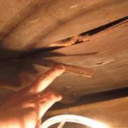 居室天井からの雨漏り 大田店