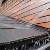 板金不良により壁からの雨漏り 大田店