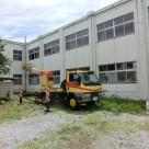 研究施設 外壁からの雨漏り 栃木店