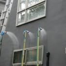 1階窓上からの雨漏り具象に対する 散水診断事例 調布店