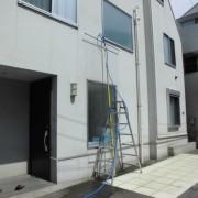 木造FIX窓の雨漏り散水調査事例 調布店